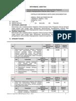 Analisis Jabatan Anjab Kasubbid Data Dan Dokumentasi Pegawai Bkd Kabupaten Paser Printed