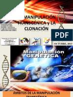 LA MANIPULACIÓN TRANSGÉNICA y LA CLONACIÓN (2)