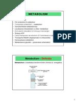 Introducere Metabolism.sinteza ATP