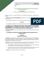 LFPDPPP DOF 05-07-2012
