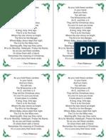 Christmas M&M Poem Tag