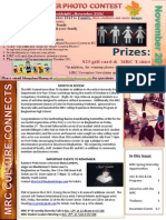MRC November Newsletter 2013