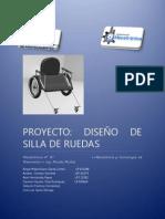 Proyecto Diseño de Silla de Ruedas