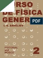 Curso de Física General - Tomo 2.  I. V. Savéliev