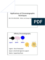 Applications of Chromatographic Techniques