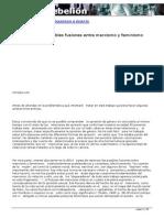 Castagnino, Pablo. Repensando Las Posibles Fusiones Entre Marxismo y Feminismo