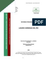 Informes de Gobierno Lazaro Cardenas