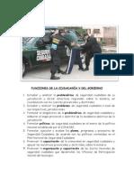 FUNCIONES DE LA CIUDADANÍA Y DEL GOBIERNO