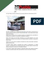 12-07-2013 Sexenio Puebla - Reactiva Moreno Valle construcción de Cendi en Texmelucan