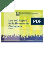 3.1 Logros de la Revolución Ciudadana Tríptico (1)