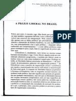 A Praxis Liberal No Brasil
