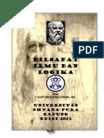 2013 Jadi Buku Filsafat Ilmu