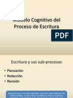 Modelo Cognitivo Del Proceso de Escritura