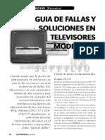 Guia de Fallas y Soluciones en Televisores