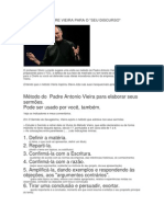 MÉTODO DO PADRE VIEIRA PARA O