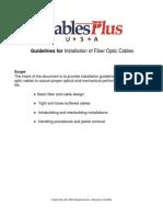 Fiber Installation Guide