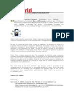 Noticias actuales y las telecomunicaciones en la oficina digital