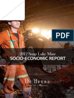 Snap Lake Mine Socio-Economic Report