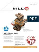 Wall E Papercraft