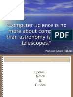 OpenGL Notes