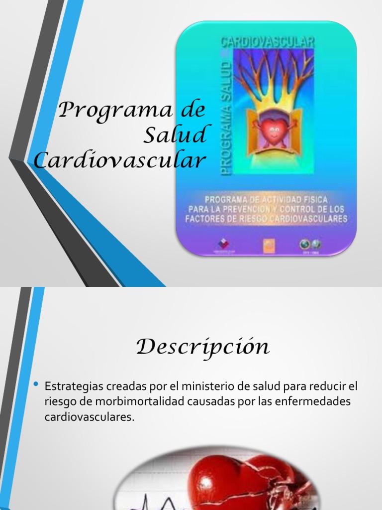 Programa De Salud Cardiovascular Final
