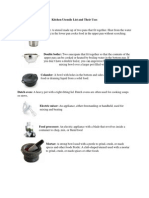 Kitchen Utensils List and Their Uses.docx