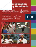 New Jersey Artists-in-Education Residency Handbook