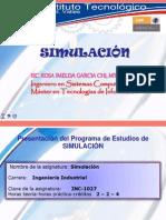 Presentacion Curso SIMULACION II