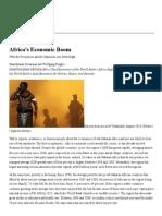 Africa's Economic Boom