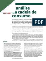 a análise da cadeia de consumo