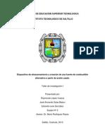 Proyecto Taller de Investigacion (Avance 4)