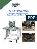 PLK-E1008H 2008H Technical Manual USA