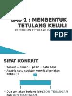 BAB 1nota Kuliah Bct202_keperluan Tetulang Dalam Kerja Konkrit
