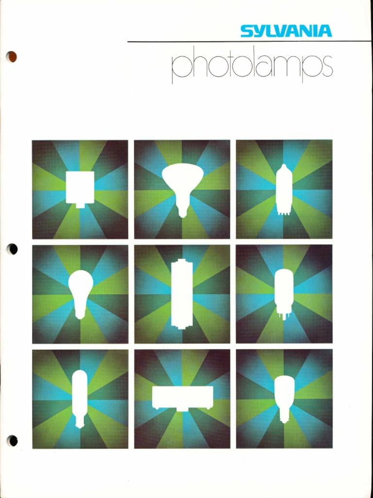 sylvania photolamps catalog 1975 pdf flash photography