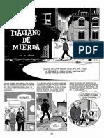 Daniel Clowes, Caricatura 02 Traje Azul Italiano de Mierda