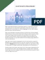 Polusi Asap Di Kota Pekanbaru