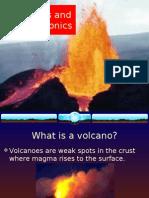 volcanoes and plate tectonics
