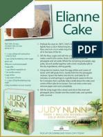 Recipe Card for Elianne Cake