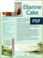 Recipe Card for Elianne Cake