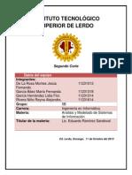 ANÁLISIS Y MODELASO DE SISTEMAS DE INFORMACIÓN proyecto