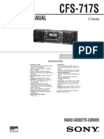 Sony Cfs-717s Ver1.1 Sm