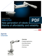 IRB 6700 -  7th Generation Industrial Robot | ABB Industrial Robot
