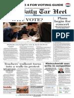 The Daily Tar Heel for November 5, 2013