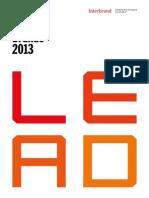 Interbrand Best Global Brands 2013 Report