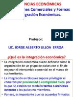 3.3.FORMAS DE INTEGRACIÓN ECONOMICAS1