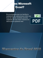 Clase 1 Excel 2010