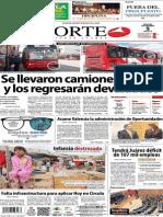 Periodico Norte de Ciudad Juarez 5 de Noviembre de 2013
