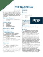 Nacirema Lesson.doc