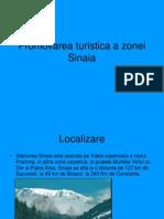 Promovarea turistica a zonei Sinaia.ppt