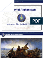 US Defense Intelligence Agency History of Afghanistan (Presentation)